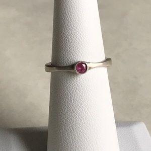 Lisa Leonard Bezel Birthstone Ring